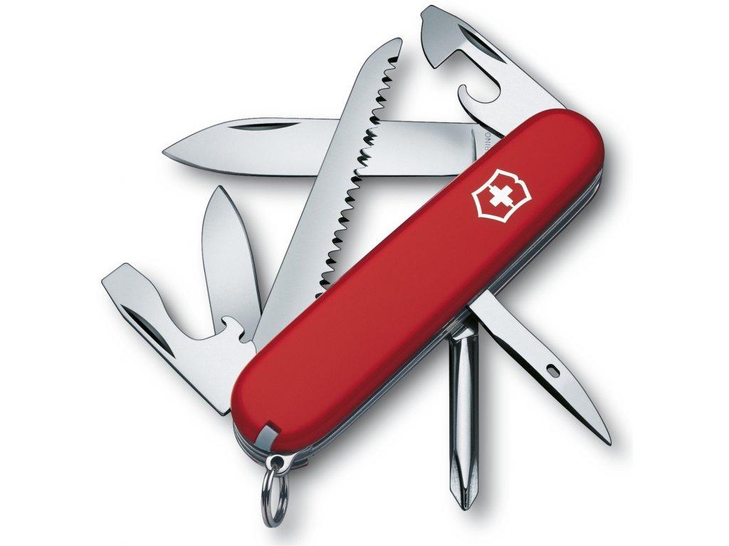 Kapesní nůž HIKER červený - Victorinox