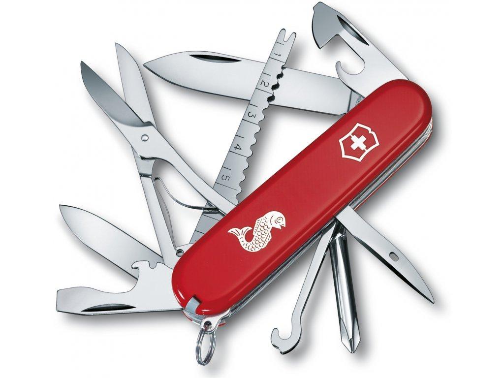 Kapesní nůž FISHERMAN červený - Victorinox