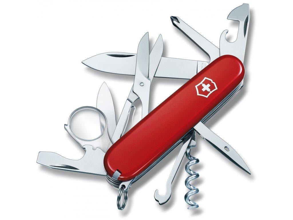Kapesní nůž Victorinox EXPLORER - červený Victorinox