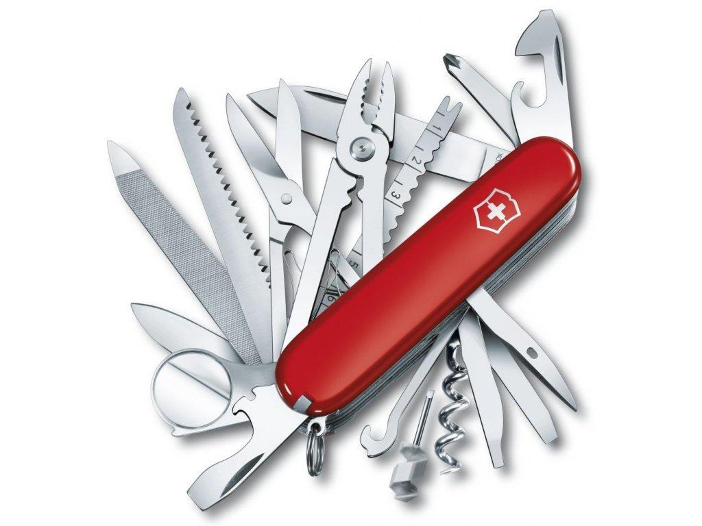 Kapesní nůž SWISSCHAMP červený - Victorinox
