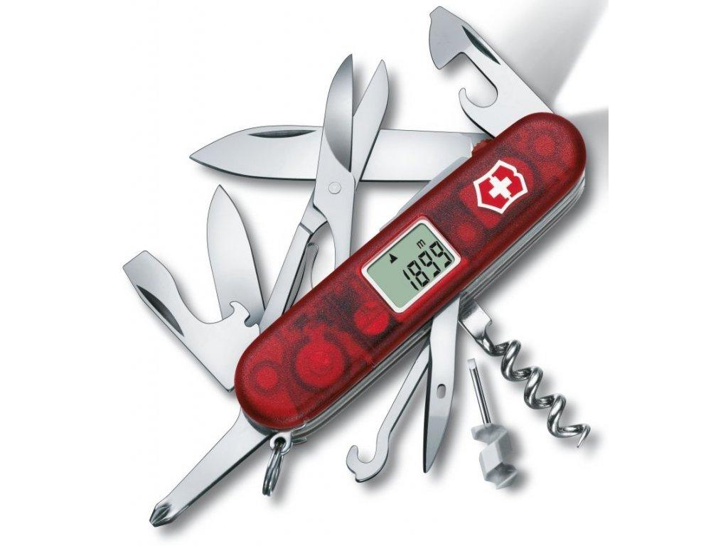 Kapesní nůž TRAVELLER LITE transparent červený - Victorinox
