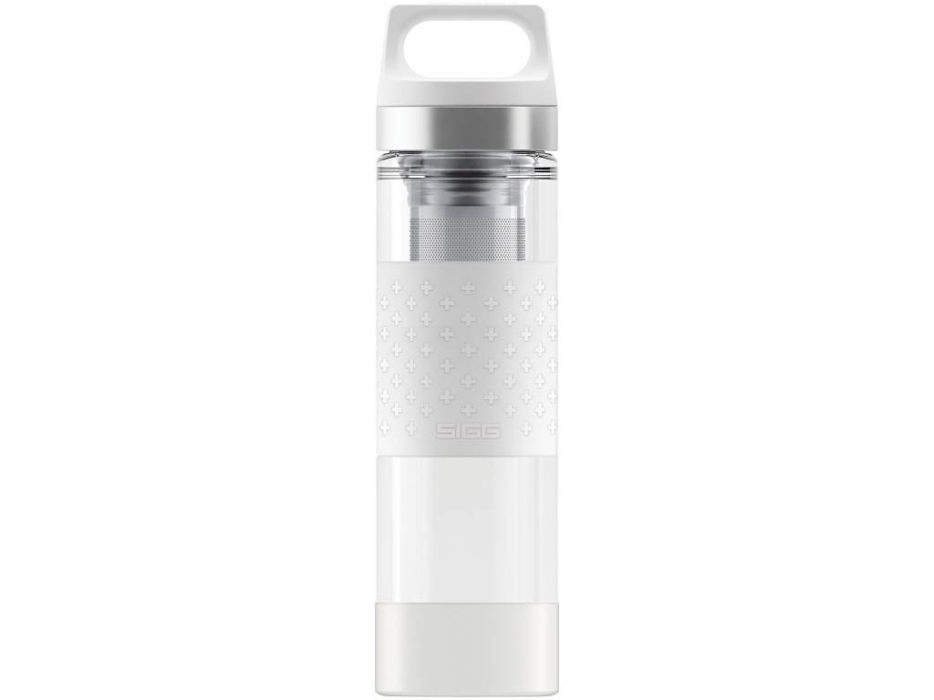 Termoska SIGG HOT & COLD GLASS 0,4 l, WHITE - SIGG