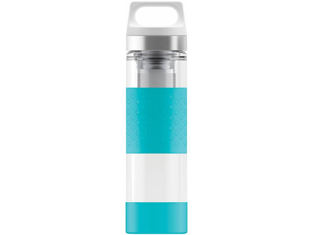 Termoska SIGG HOT & COLD GLASS 0,4 l, AQUA - SIGG