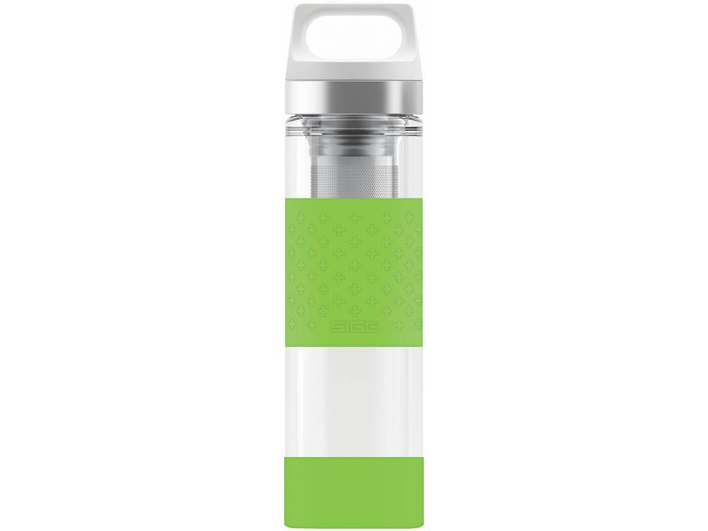 Termoska SIGG HOT & COLD GLASS 0,4 l, GREEN - SIGG