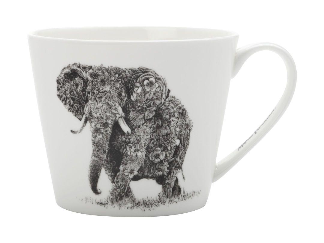 Porcelánový Hrnek Marini Ferlazzo africký slon 450 ml - Maxwell&Williams