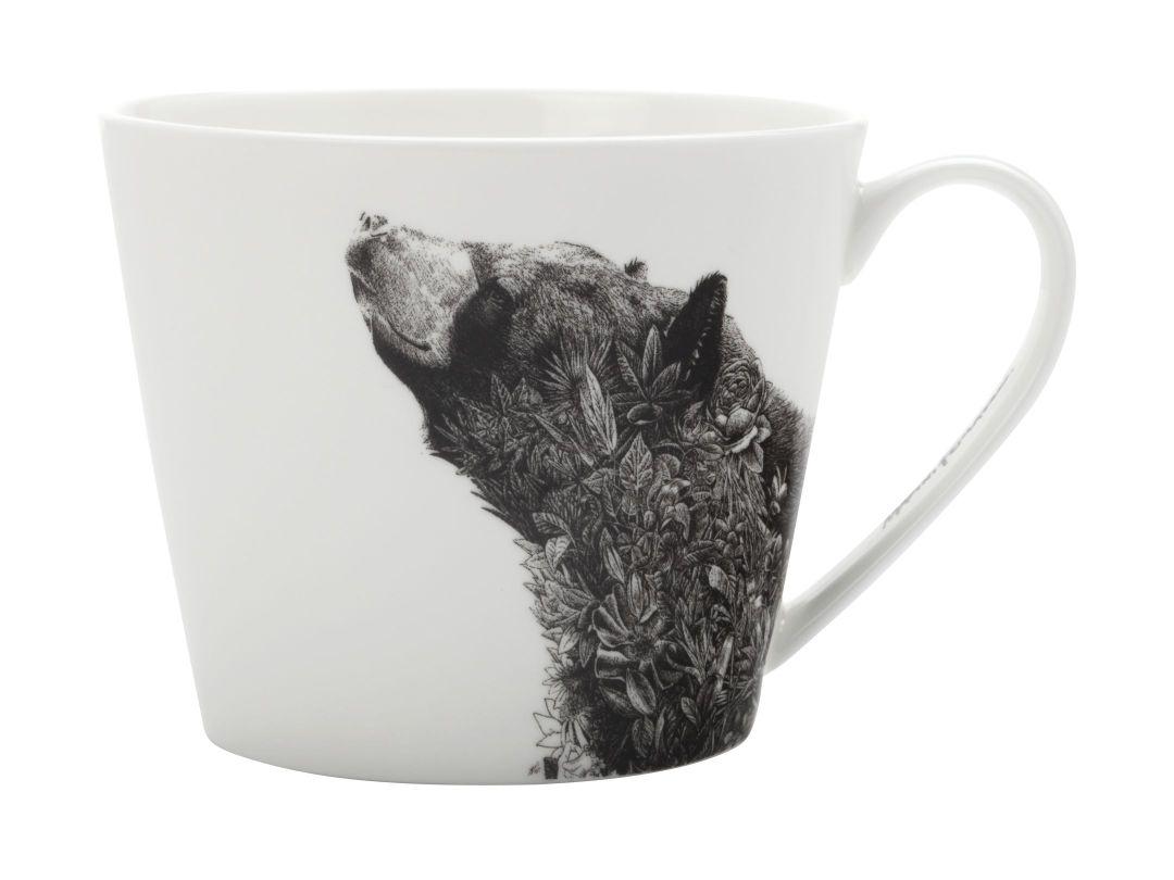 Porcelánový Hrnek Marini Ferlazzo asijský černý medvěd 450 ml - Maxwell&Williams