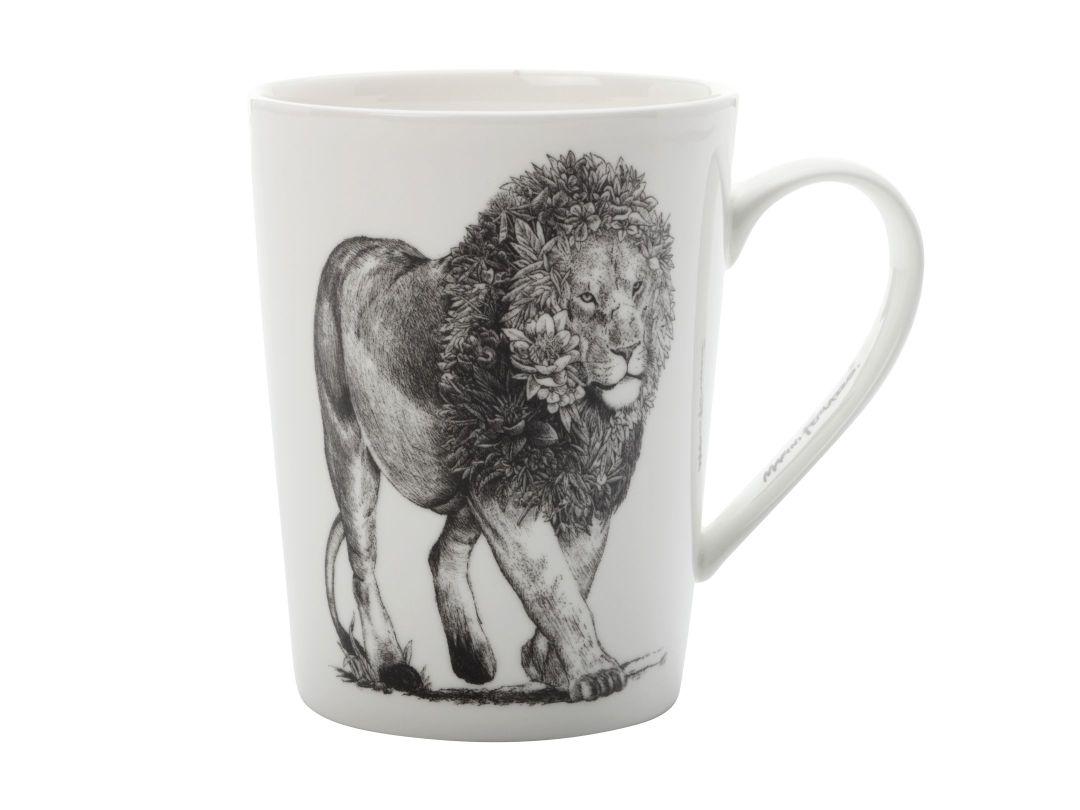 Porcelánový Hrnek Marini Ferlazzo africký lev 450 ml - Maxwell&Williams