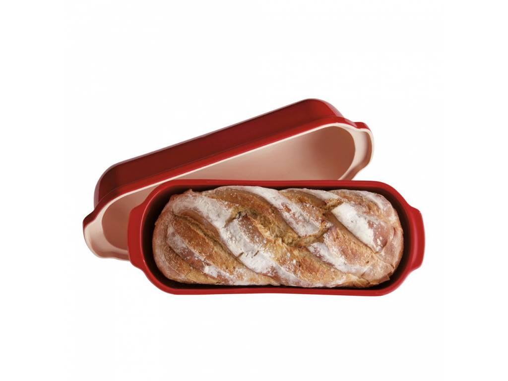 Forma na pečení chleba Specialities Burgundy granátová 39,5 x 16 cm- Emile Henry