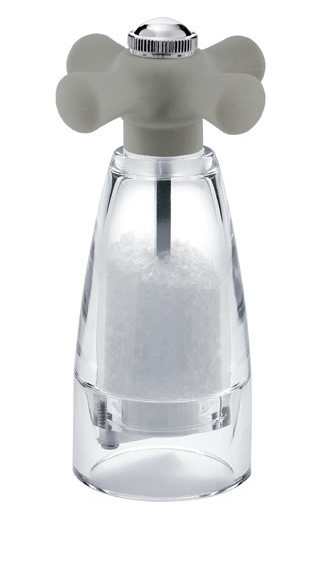 Mlýnek na sůl RAY COLOURS SILICONE 15 cm šedý - Carlo Giannini