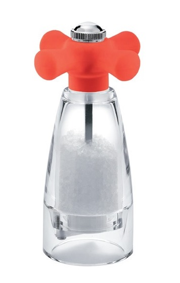 Mlýnek na sůl RAY COLOURS SILICONE 15 cm červený - Carlo Giannini