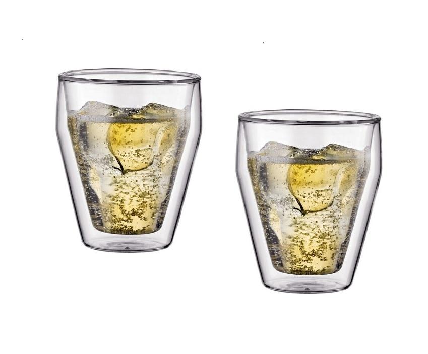 Dvoustěnná sklenice TITLIS 0,25 l 2ks - Bodum