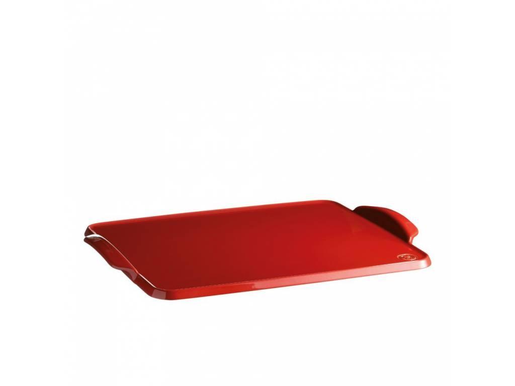 Tác na servírování a pečení specialities granátový 41,5 x 31,5 cm - Emile Henry