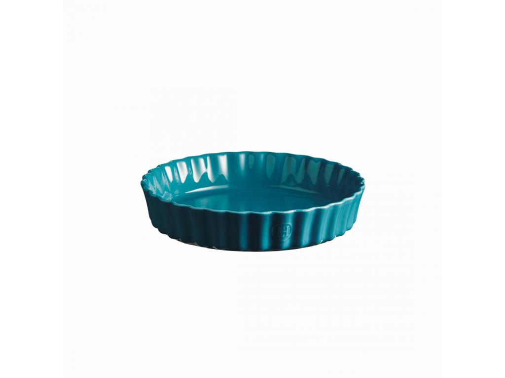 Koláčová forma hluboká 24 cm Calanque modrá - Emile Henry