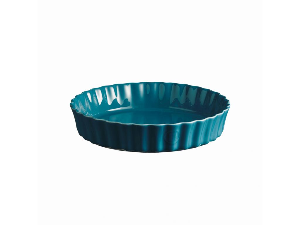 Koláčová forma hluboká 28 cm Calanque modrá - Emile Henry