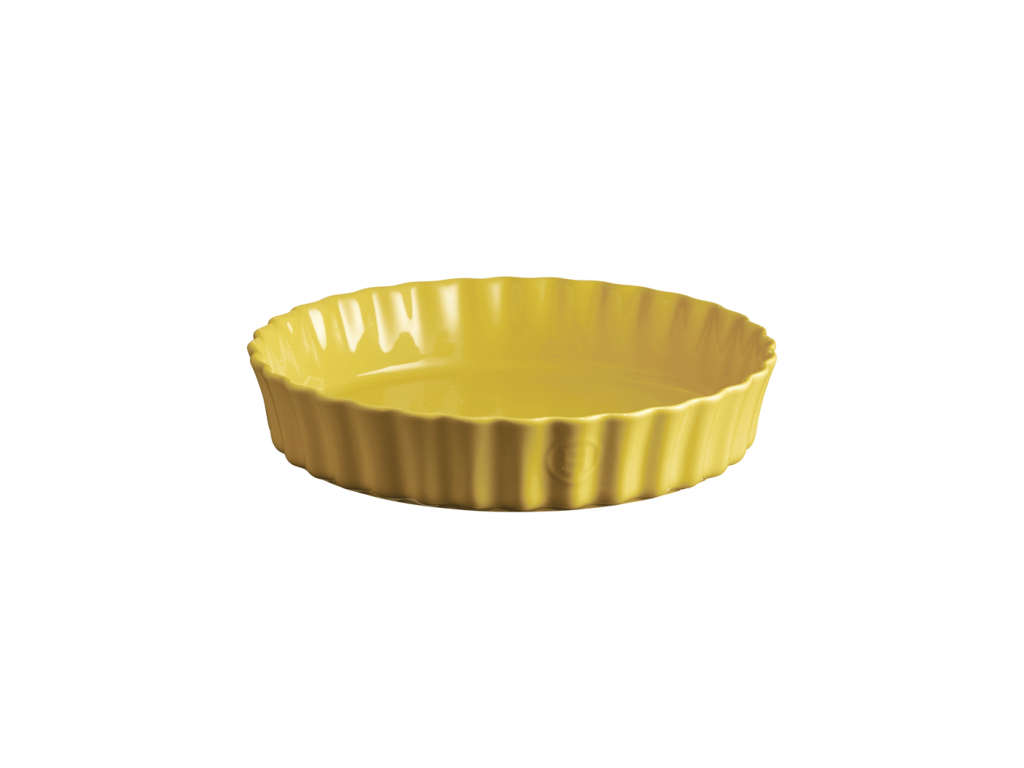 Koláčová forma hluboká 28 cm Provence žlutá - Emile Henry