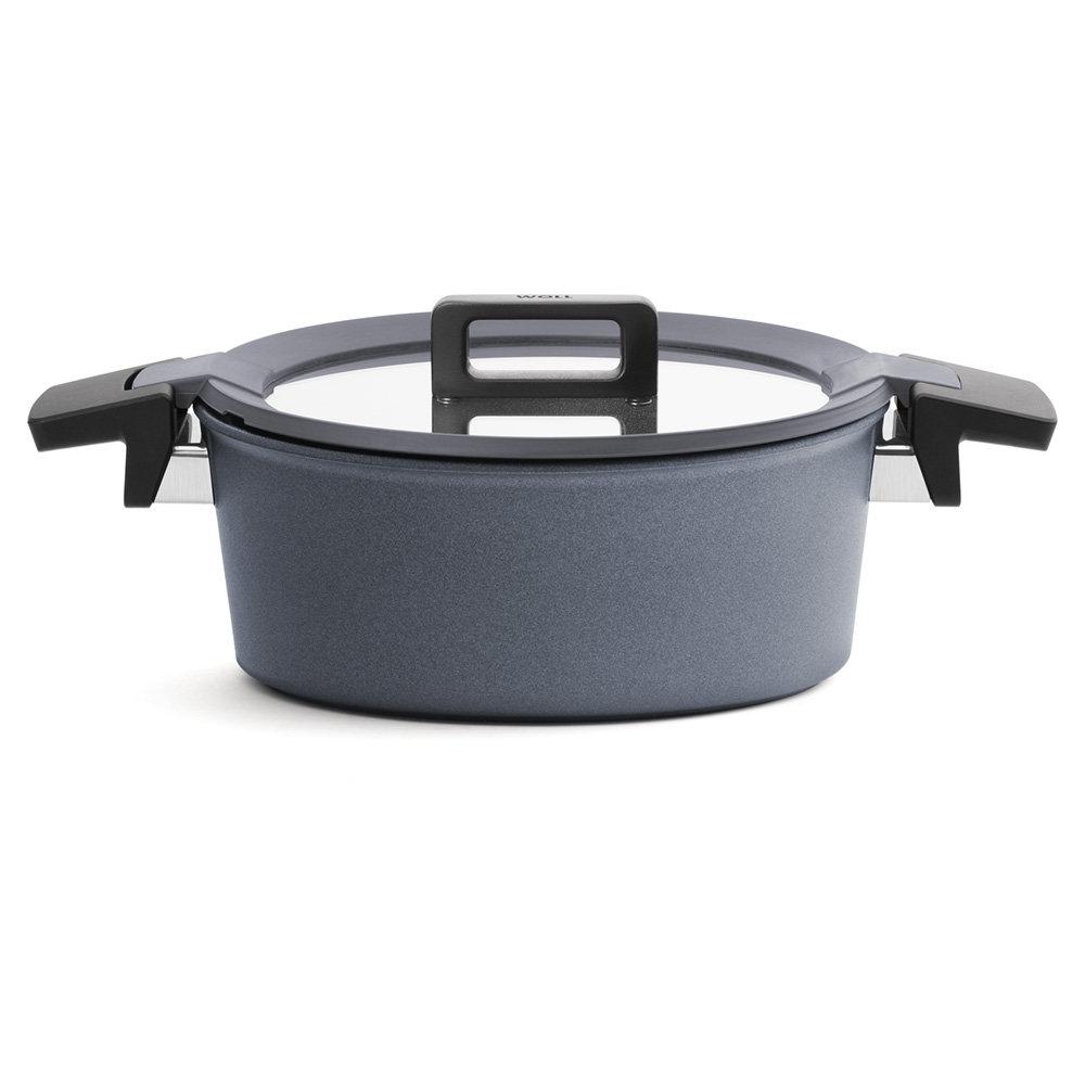 Titanový Kastrol Concept plus neindukční s poklicí 28 cm - WOLL