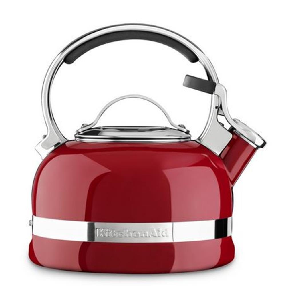 Konvice na vaření vody královská červená 1,9 l - KitchenAid