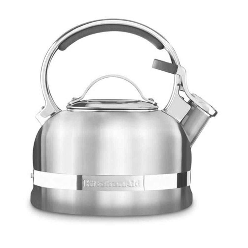 Konvice na vaření vody broušená nerez 1,9 l - KitchenAid