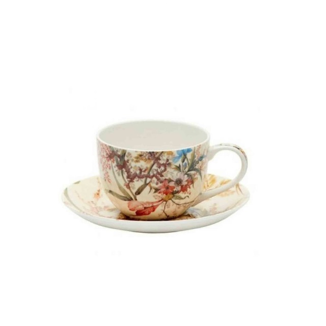 Šálek s podšálkem Cottage Blossom William Kilburn 100 ml - Maxwell&Williams