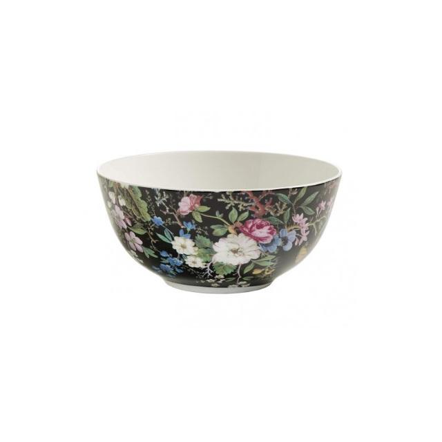 Porcelánová Miska 16 cm Midnight Blossom William Kilburn - Maxwell&Williams