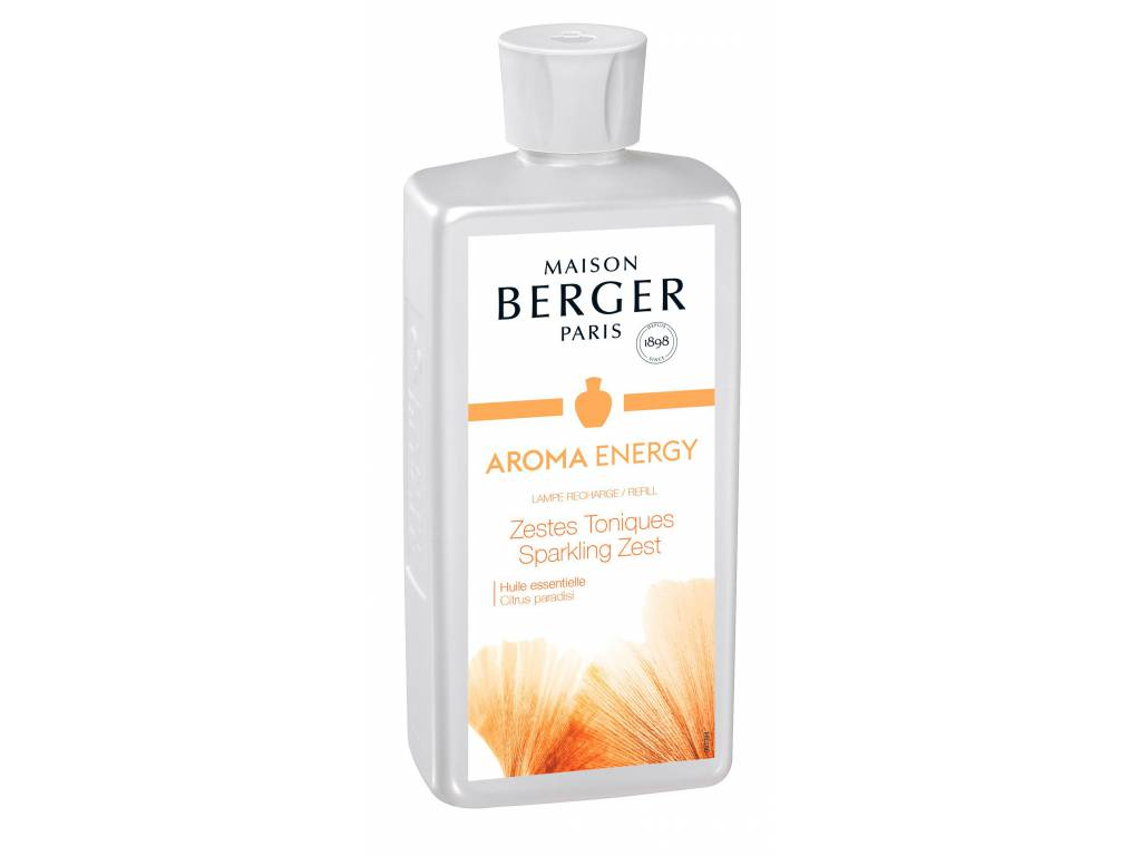 Náplň do katalyt. lampy Aroma energy čerstvé tonikum 500ml-Maison Berger Paris