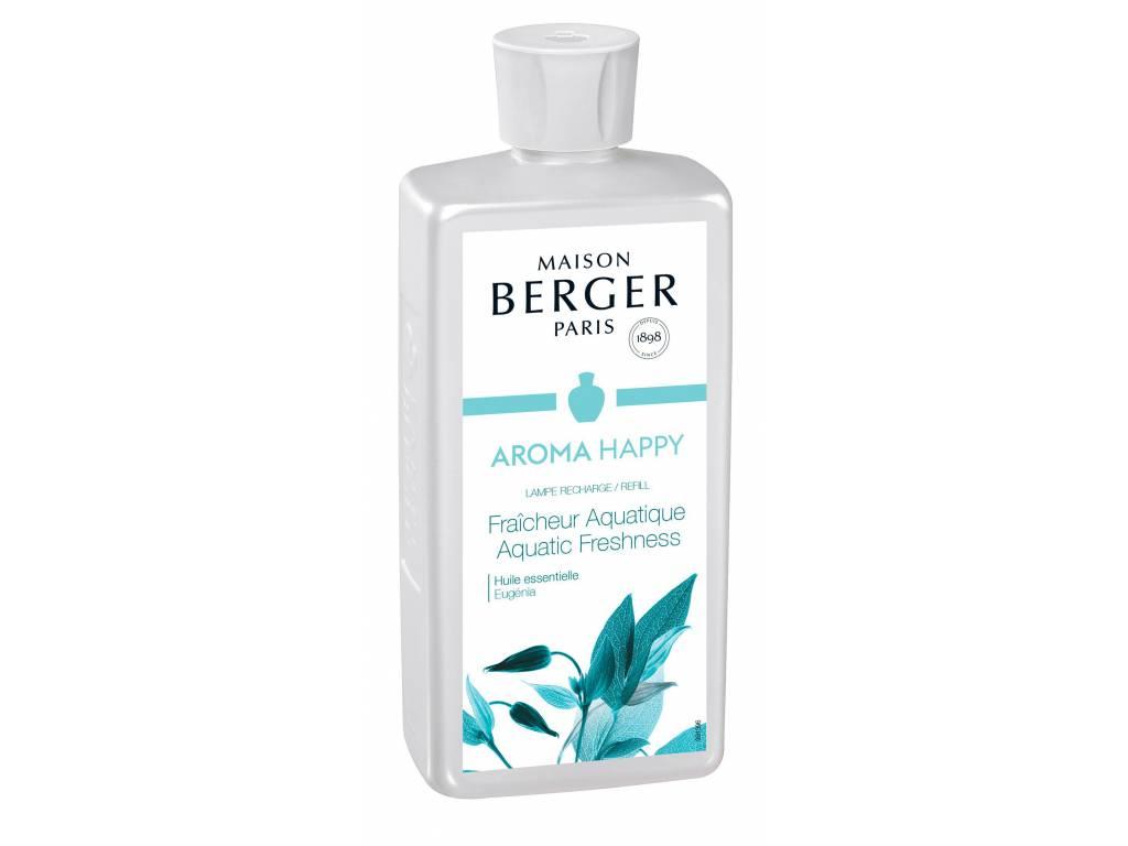 Náplň do katalytické lampy Aroma happy svěžest vody 500ml - Maison Berger Paris