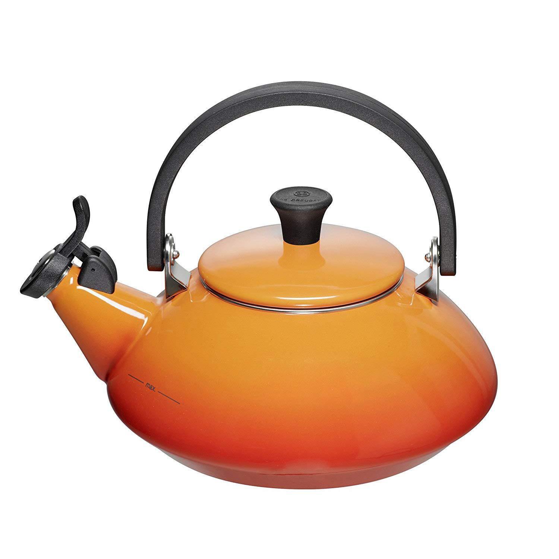 Konvice na vaření vody ZEN 1,5l oranžovočervená - LE CREUSET