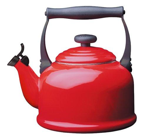Konvice na vaření vody TRADITIONAL 2,1l červená - LE CREUSET