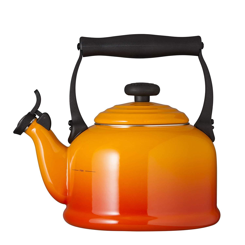 Konvice na vaření vody TRADITIONAL 2,1l oranžovočervená - LE CREUSET