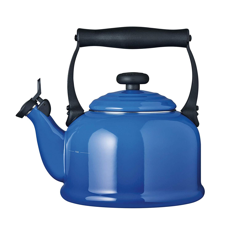 Konvice na vaření vody TRADITIONAL 2,1l Marseillsky Modrá - LE CREUSET