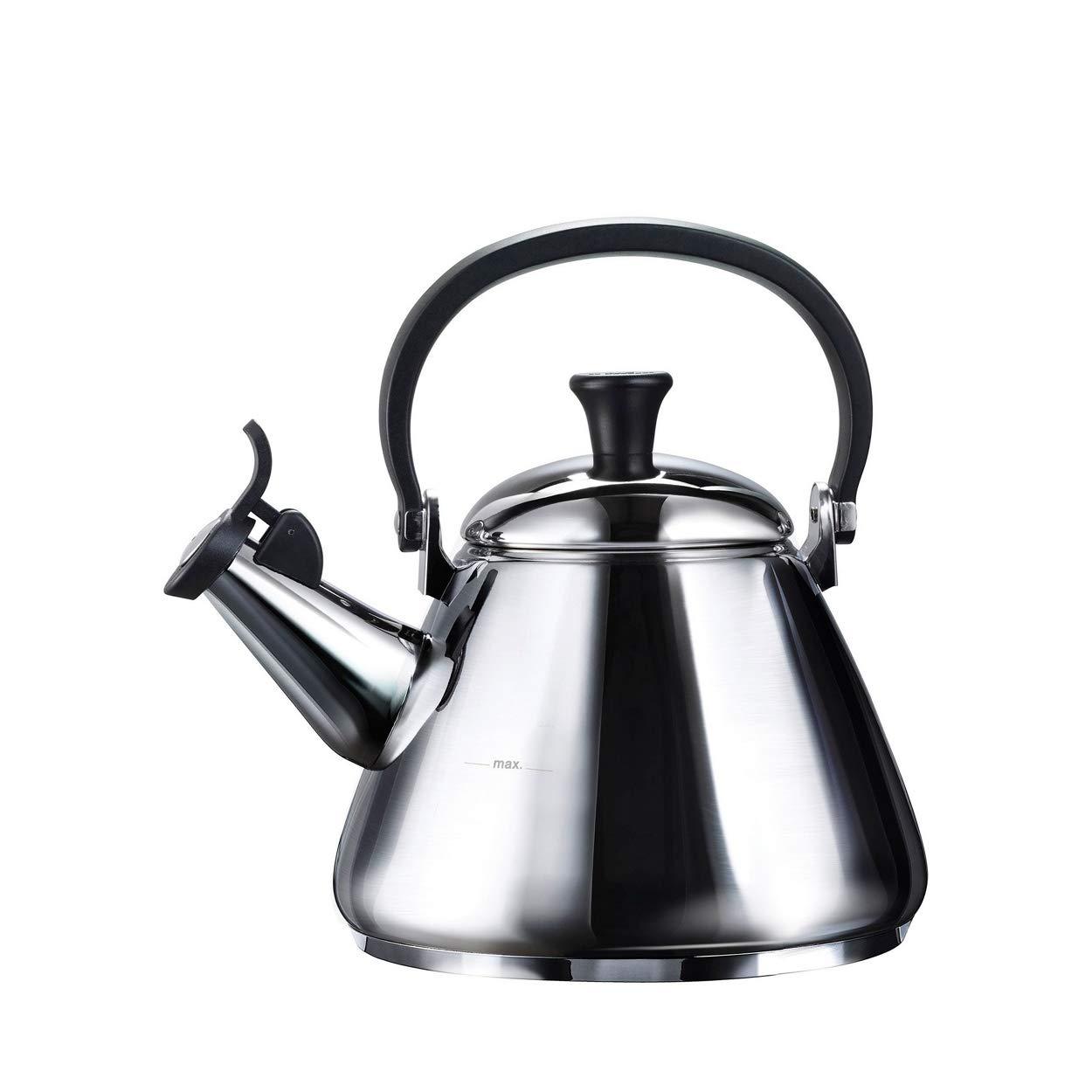 Konvice na vaření vody KONE 1,6l nerezová - LE CREUSET