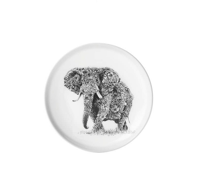Porcelánový Talíř Marini Ferlazzo Africký slon 20 cm - Maxwell&Williams