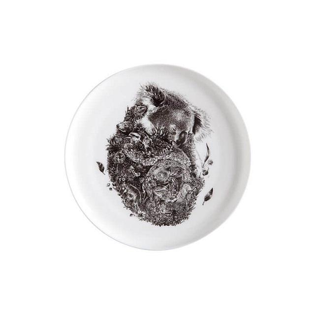 Porcelánový Talíř Marini Ferlazzo Koala s přáteli 20 cm - Maxwell&Williams