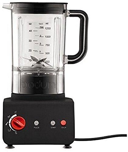 Kuchyňský stolní mixér BISTRO 1,25 l černý - Bodum