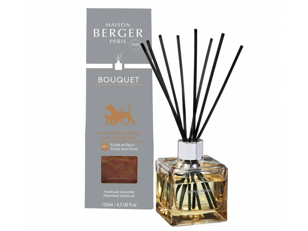 Aroma Difuzér CUBE proti zvířecímu zápachu 125 ml - Maison Berger Paris
