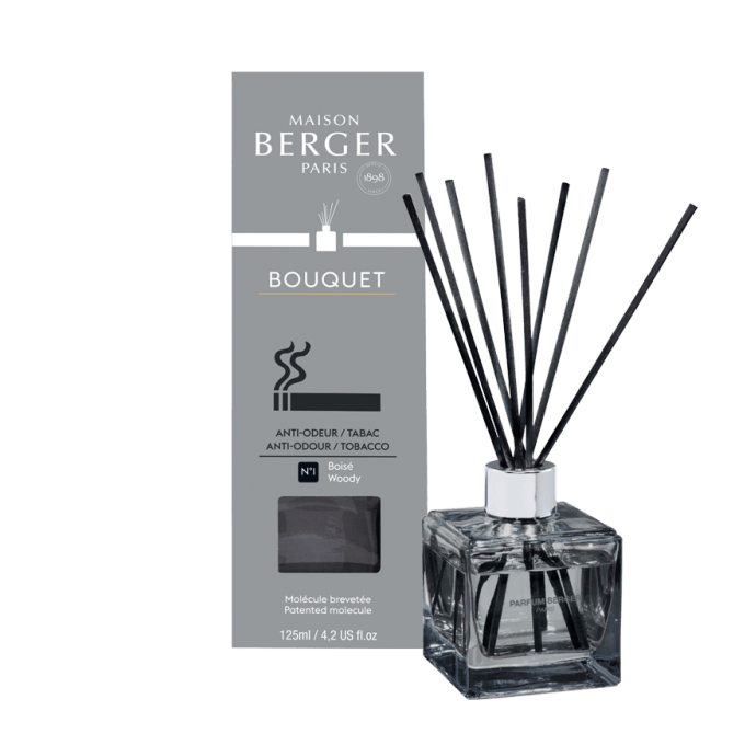 Aroma Difuzér CUBE proti zápachu tabáku 125 ml - Maison Berger Paris