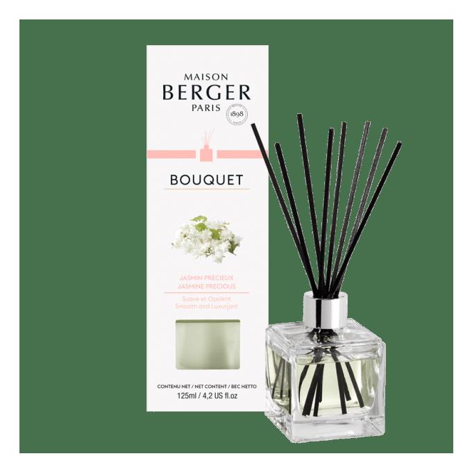 Aroma Difuzér CUBE Vzácný jasmín 125 ml - Maison Berger Paris