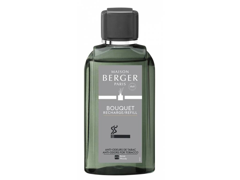 Náplň do difuzéru Proti zápachu tabáku Dřevitá vůně 200 ml - Maison Berger Paris