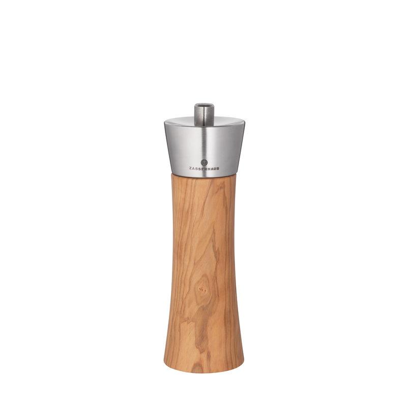 Mlýnek na sůl AUGSBURG 18 cm, olivové dřevo - Zassenhaus
