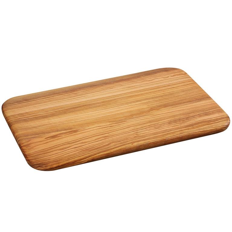 Krájecí prkénko olivové dřevo, 30x21x1,2 cm - Zassenhaus