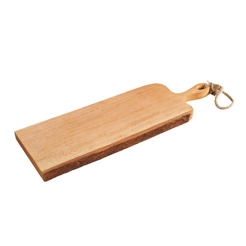 Krájecí prkénko s rukojetí mangové dřevo, 59x19x2,5 cm - Zassenhaus