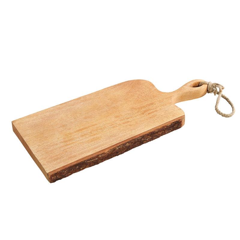Krájecí prkénko s rukojetí mangové dřevo, 46x19x2,5 cm - Zassenhaus