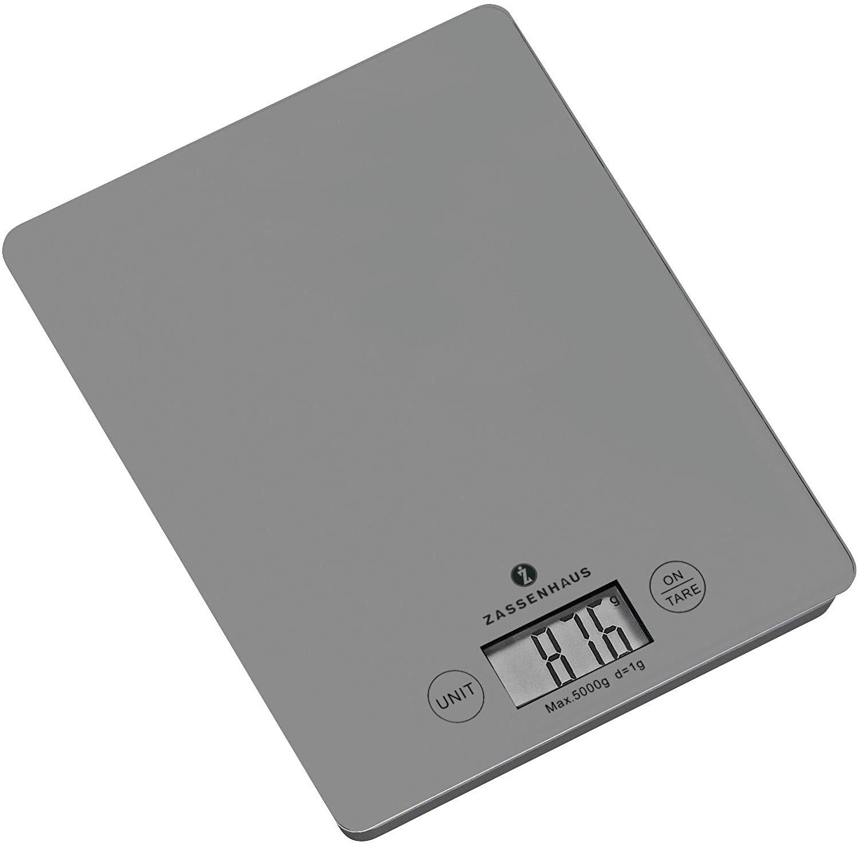 Kuchyňská digitální váha BALANCE, světle šedá - Zassenhaus