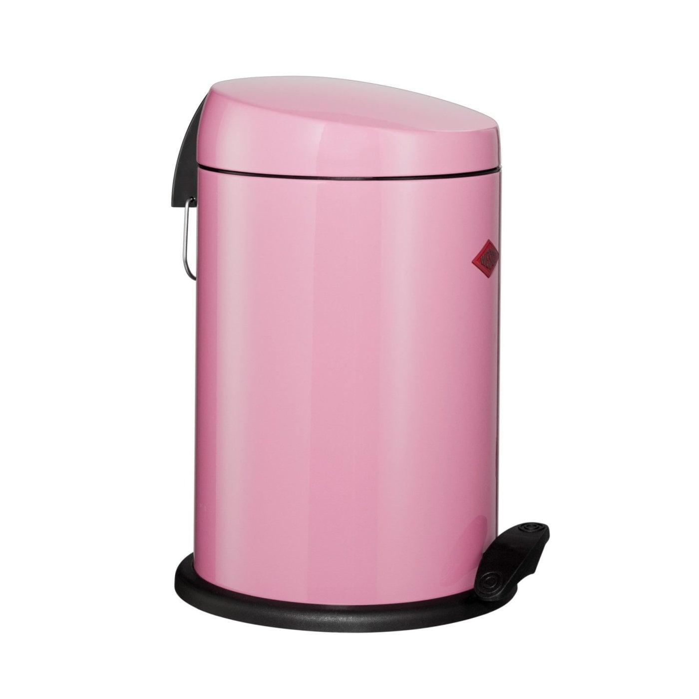 Odpadkový koš CAPBOY nášlapný 13l růžový - Wesco