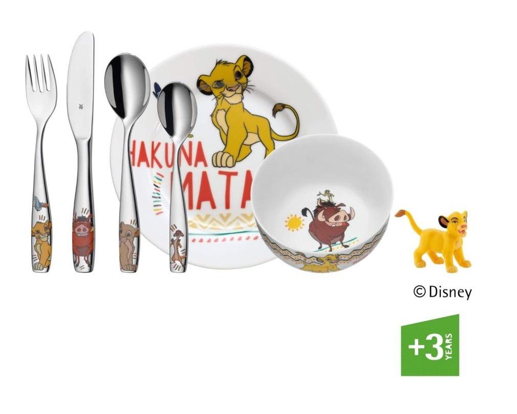 Dětský příbor 6-dílný set LVÍ KRÁL Hakuna Matata - WMF