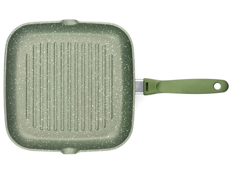 Grilovací pánev Dr.Green 26 x 26 cm indukční - Risoli