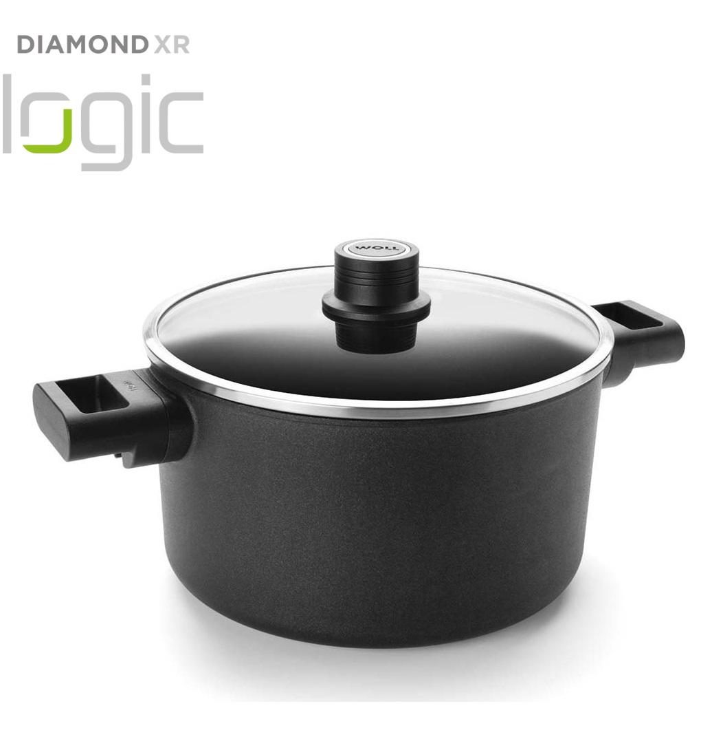 Hrnec s poklici Diamond XR Logic 24 cm - WOLL