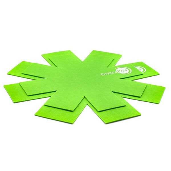 Vložka mezi pánve 2ks plsť - GreenPan