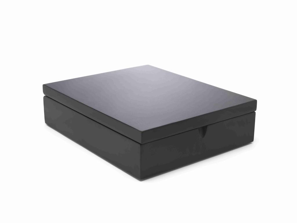 Krabička na porcovaný čaj BLACK, 9 přihrádek - Bredemeijer