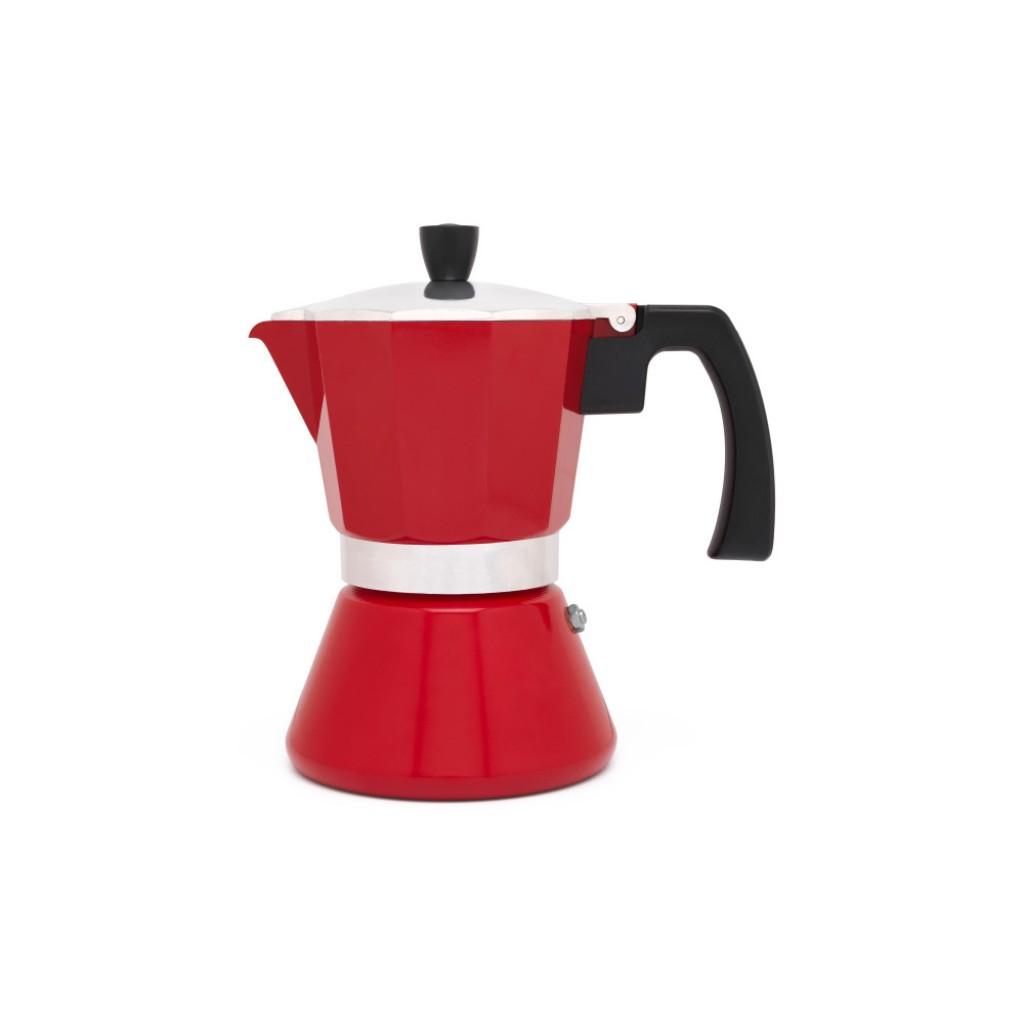 Kávovar TIVOLI červený, 6 šálků - Leopold Vienna